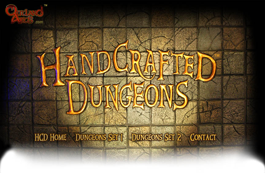 Basic Dungeon Tiles Set 2 :: Handcrafted Dungeons By Outland Arts ::  Tabletop Game Tiles For RPGs, Wargaming And Other Fantasy Miniature Games