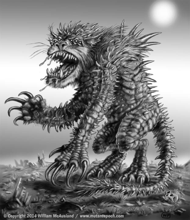 The Mutant Epoch: Art from Mutant Beastiary One, Gallery page 2