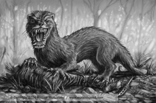 The Mutant Epoch Art From Mutant Beastiary One Gallery