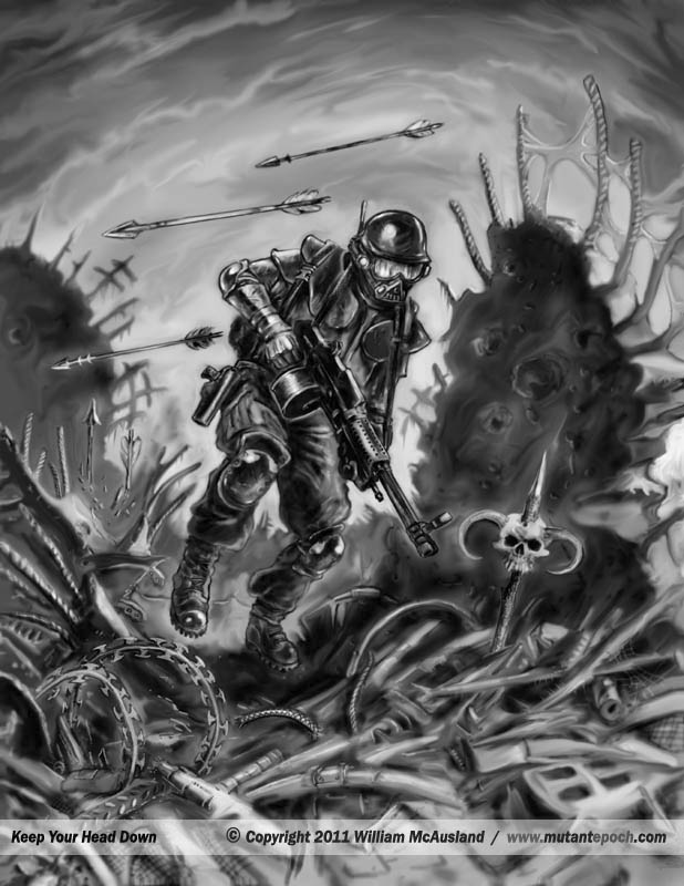 The Mutant Epoch:: Gallery 5, Game art and illustration ...