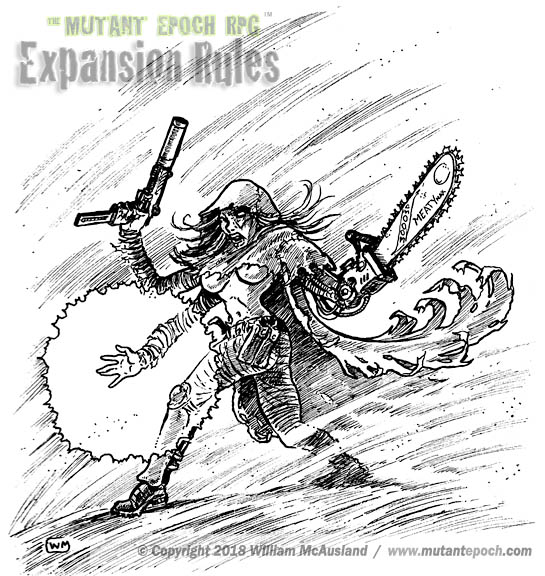 The Mutant Epoch RPG Expansion Rules